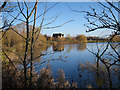 TL3876 : Hawamahall, Earith gravel pits by Hugh Venables