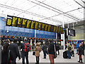 TQ3280 : London Bridge station - new screens by Stephen Craven