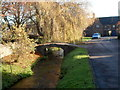 SO6102 : Stockwell Brook footbridge, Aylburton by John Grayson