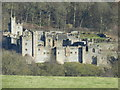 SK2366 : Haddon Hall, from Haddon Fields by Peter Barr