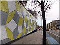 TQ3582 : A mathematical wall at Queen Mary College by David Smith