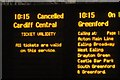 TQ2681 : Cancelled, but all tickets valid by Derek Harper
