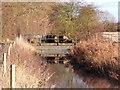 SK3530 : No room under the bridge by Ian Calderwood