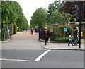 TQ2580 : Orme Square Gate, Kensington Gardens, London by John Grayson