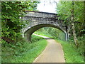 NN5823 : Stone bridge over track to Rob Roy Way by Anthony O'Neil