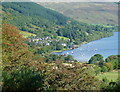 NN5923 : View of Lochearnhead from Craggan by Anthony O'Neil