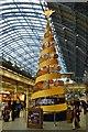 TQ3083 : Main concourse - St Pancras - late November : Week 48