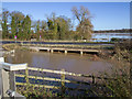 SP2661 : Flood Relief Channel by David P Howard