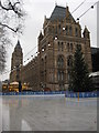 TQ2679 : Ice rink, National History Museum by Philip Halling