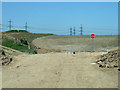 TQ4682 : Brownfield land by Robin Webster