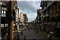 SJ4066 : Chester: looking down Bridge Street from The Cross by Christopher Hilton