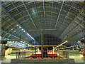 TQ3082 : Inside St. Pancras International Station in the evening : Week 48