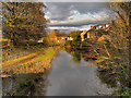 SJ9688 : Marple, Peak Forest Canal by David Dixon
