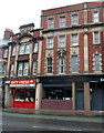 ST3188 : City Pizza and Maharaja, Clarence Place, Newport by John Grayson