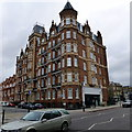 TQ2578 : Langham Mansions Earls Court by PAUL FARMER