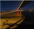 TA0225 : The Humber Bridge at Night : Week 48