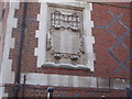 TQ3381 : Plaque on the wall of Christ Church School, Brick Lane by b davies