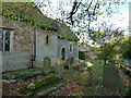 SU7156 : Rotherwick Church- an autumnal churchyard (K) by Basher Eyre