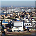 TQ4080 : Nuplex, Clyde Wharf Works by Oast House Archive