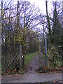 TL2863 : Footpath to Papworth Wood by Adrian Cable