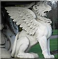 TQ2882 : Who would be a Griffin in this weather? by Steve  Fareham