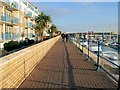 TQ3403 : Brighton Marina Boardwalk by Paul Gillett