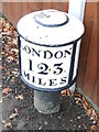 SK3833 : Old Milepost by Keith Evans
