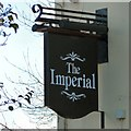 SJ8990 : Sign of The Imperial by Gerald England