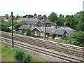 SE5646 : Copmanthorpe railway station (site), Yorkshire by Nigel Thompson