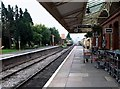 SP0532 : Down platform, Toddington Railway Station, Gloucestershire by nick macneill