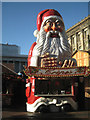 SP0686 : Santa Claus sells cr&ecirc;pes, Victoria Square by Robin Stott