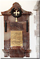 TL7173 : St Mary, Barton Mills - War Memorial WWII by John Salmon