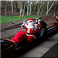 J5476 : Santa arriving at Drumawhey Junction by Rossographer