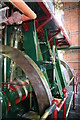SO8693 : Bratch Pumping station - steam engine by Chris Allen