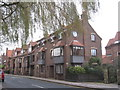 TA0339 : Housing on Eastgate, Beverley by Jonathan Thacker