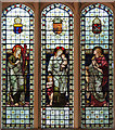 TQ2289 : St Mary, Church End, Hendon - Stained glass window by John Salmon