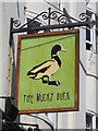 TQ3104 : Sign for The Mucky Duck, Manchester Street, BN2 by Mike Quinn