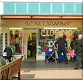 SJ9494 : Scallywag's closing down by Gerald England