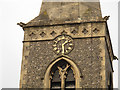 TQ2864 : Holy Trinity church clock by Stephen Craven