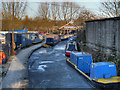 SJ9398 : Portland Basin Marina by David Dixon