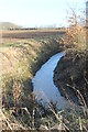 SK9282 : Drain near Coates by J.Hannan-Briggs