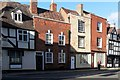 SO8932 : Row of converted shops, Church Street, Tewkesbury by nick macneill