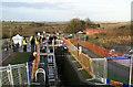 SP6989 : Foxton locks - stoppage open day by Chris Allen