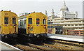 TQ3180 : Terminal Platforms 1 - 3, with berthed 4EPB EMUs at Blackfriars Station, 1989 by Ben Brooksbank