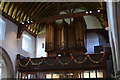 TQ6741 : Organ, All Saints' church, Brenchley by Julian P Guffogg