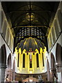 SJ4166 : Inside St Werburgh's Roman Catholic church by John S Turner