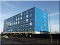 TQ4379 : Container building, Woolwich by David Anstiss