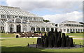 TQ1876 : David Nash at Kew by Martin Addison
