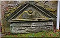 NT2463 : Gravestone remains, Glencorse Old Kirk by Jim Barton