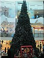 TQ3004 : Christmas Tree in Churchill Square by Paul Gillett